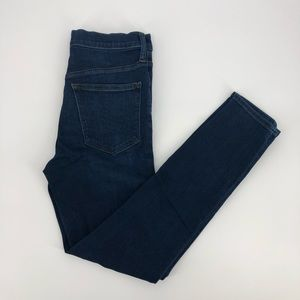 J. Crew Hi-Rise Skinny Stretch Ankle Jeans